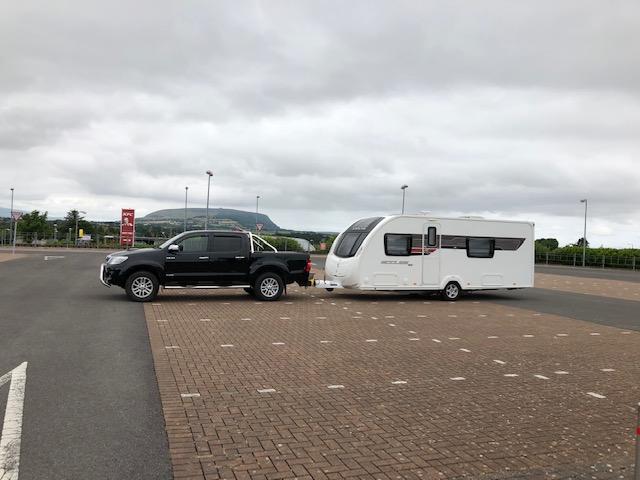 caravan tow